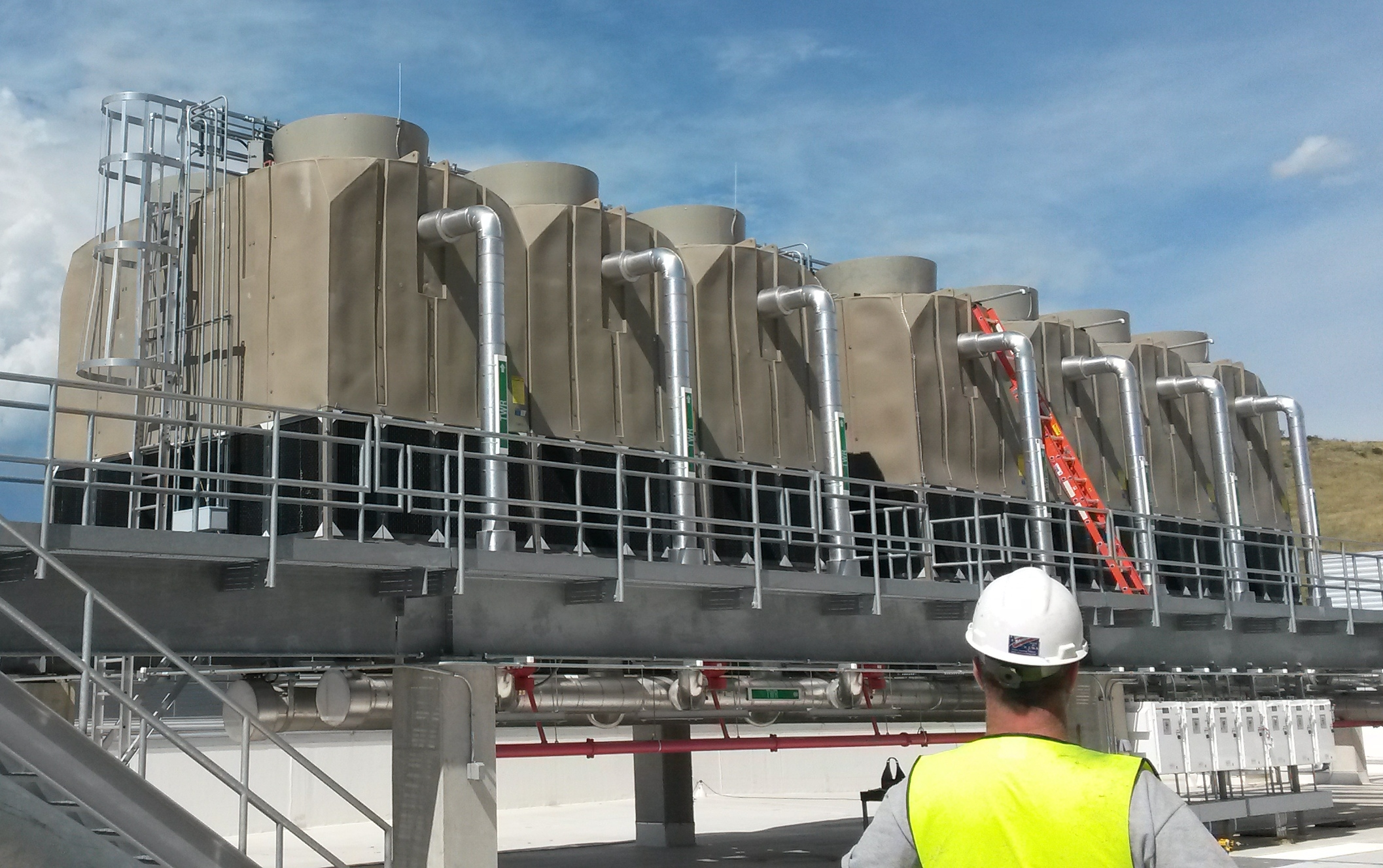 Maintaining Cooling Towers