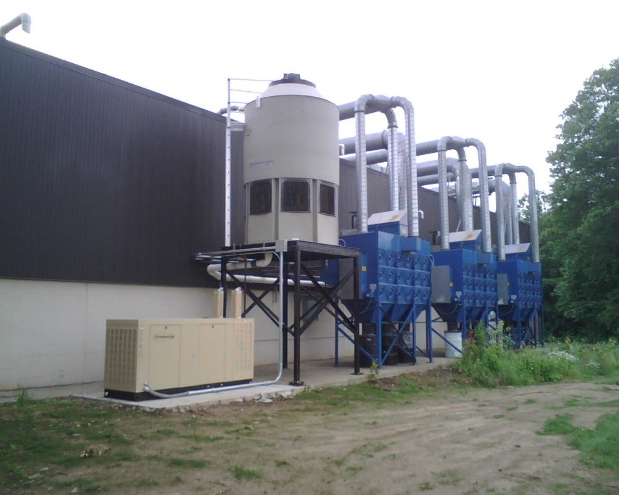 green cooling towers