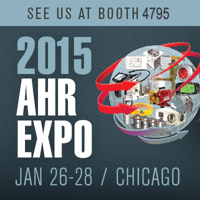 2015 AHR Expo, Booth 4795