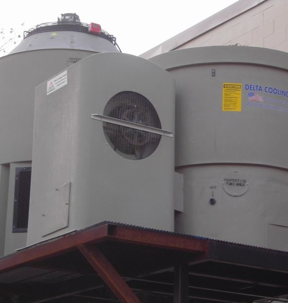 Forced Draft Plastic Cooling Towers