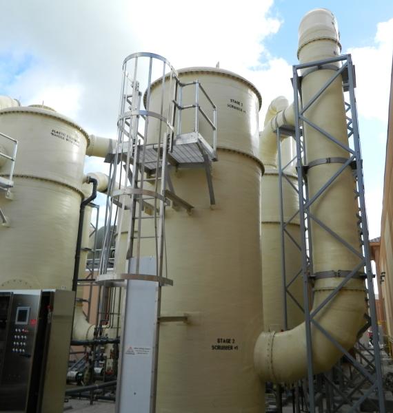 Vanguard® Air Scrubbers & Odor Control