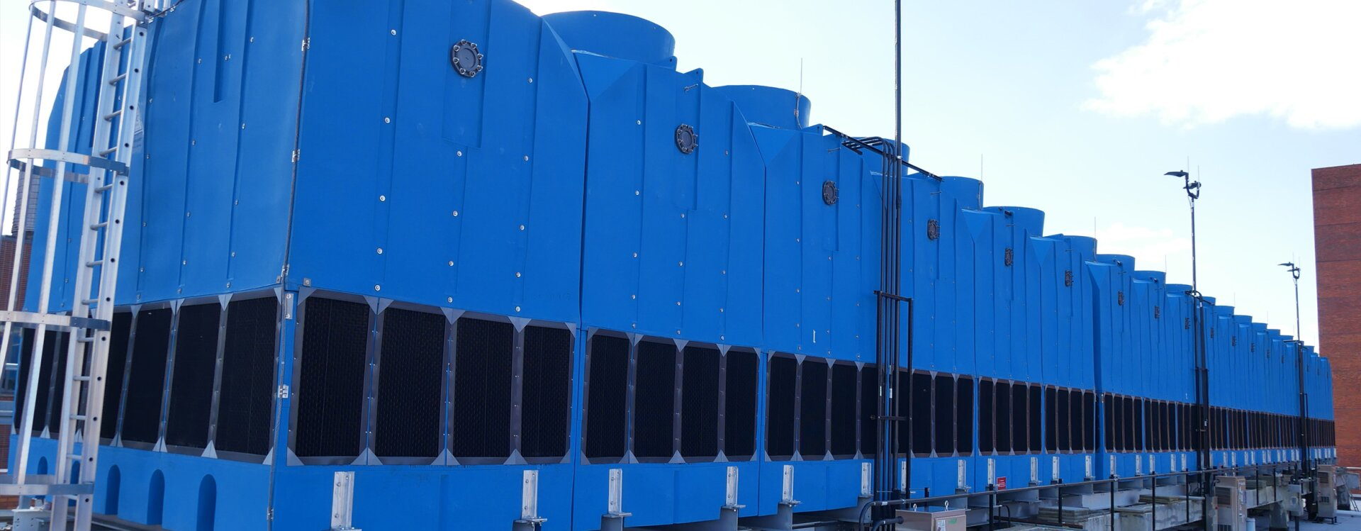 Anti-Microbial water cooling towers